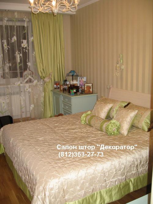 шторы в спальню и покрывала фотографии работ студии